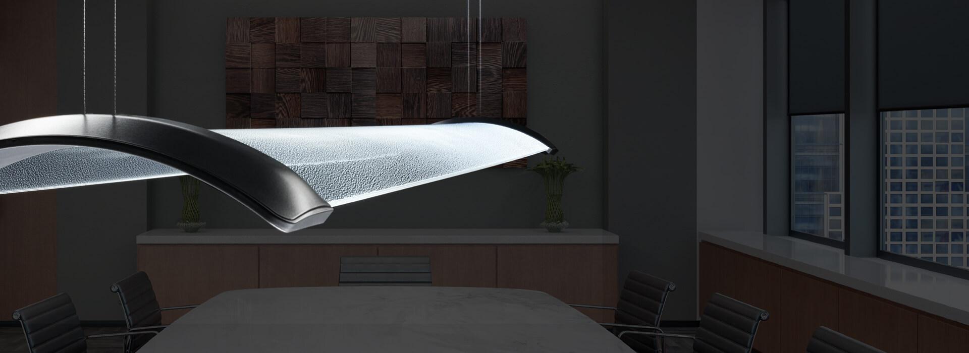 Concepts d'éclairage<br/> en harmonie<br/> avec l'architecture